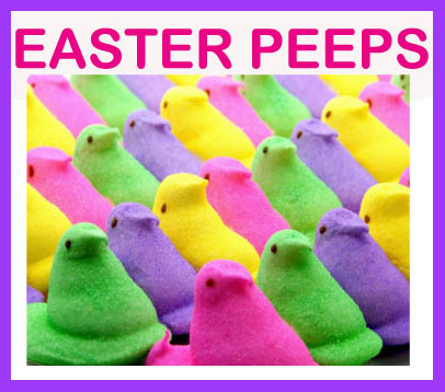 Easter Peeps Choices - Click Here Choose Your Favorites