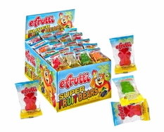 eFrutti Super Fruit Gummy Bears 80 Count