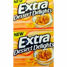 Extra Dessert Delights Peach Cobbler 10 Count