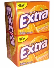 Extra Gum Slim Pack Sweet Orange 10 Pack