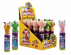 Eye Popper Animal Candy Toy 12 Count