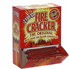 Fire Cracker Pickled Sausage 50 Count