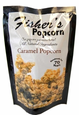 Fisher's Caramel Popcorn 2oz Bag
