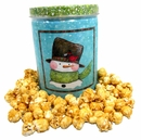 Fisher's Holiday Caramel Popcorn Tin Snowmen