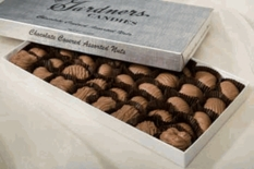 Gardners Chocolate Covered Nuts  Assortment 15oz