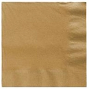 Gold Lunch Napkins 50 Count