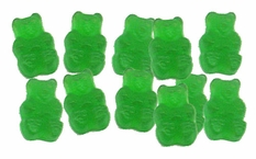 Green Apple Gummy Bears 5lbs