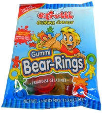 Gummi Bear Rings 4oz