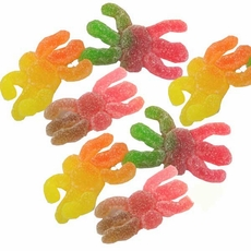 Gummi Hairy Spiders 4.4lb (370 Count)