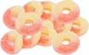 Gummi Strawberry/Banana Rings 4.5lb Bag