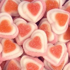 Gummi Triple Hearts 4.4lb Bulk Bag