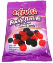Gummy  Fruity Berries 4.25oz E.Fruitti