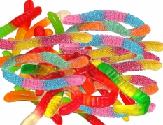 Gummy Worms Regular or Sour