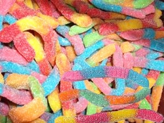 Gummy Worms Sour 4.5lb Bag
