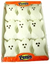 Halloween Marshmallow Peeps - Ghosts