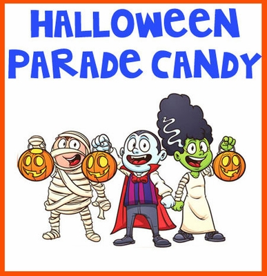 Halloween Parade Candy