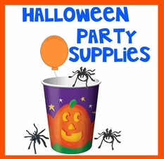 Halloween Party Supplies - Treat Bags - Balloons & More
