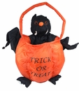 Halloween Soft Treat Basket Bat - Large