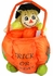 Halloween Soft Treat Basket Scarecrow Large