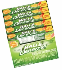 Halls Cough Drops Sticks 20ct - Citrus