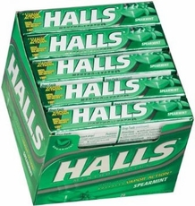 Halls Cough Drops Sticks 20ct - Spearmint
