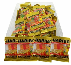 Haribo Mini Gummy Bears 72 Count