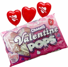 Heart Shaped Lollipops  21 Count - By Charms