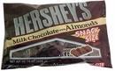 Hershey's Almond Snack Size Candy Bar 10.78oz Bag (21ct)