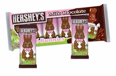 Hershey's Chocolate Bunnies 6 Pack