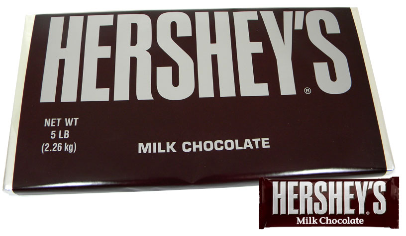 hersheys giant 5lb milk chocolate bar blaircandycom
