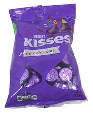 Hershey's Kisses Purple Foil 7oz Bag
