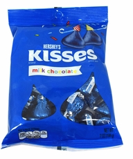 Hershey's Kisses Royal Blue Foil 7oz Bag