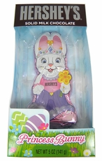Hershey's Princess Solid Chocolate Bunny 5oz