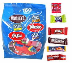 Hershey's Snack Size Mix 160 Count (Blue Bag)