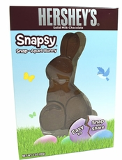 Hershey's Snap Apart Solid Milk Chocolate Bunny 2oz
