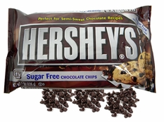 Hershey's Sugar Free Semi Sweet Chocolate Chips 8oz Bag