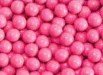 Hot Pink Mini Chocolate Candy Balls 2lb Bag Sixlets