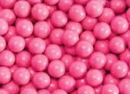 Hot Pink Mini Chocolate Candy Balls 2 1/2lb Sixlets