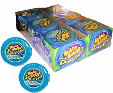 Hubba Bubba Bubble Tape Sour Blue Raspberry 12 Count