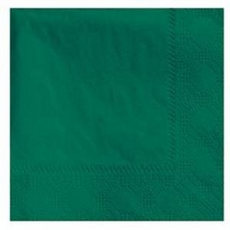Hunter Green Lunch Napkins 50 Count 3 Ply