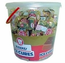 Ice Cube Candy Bar 120 Count Tub