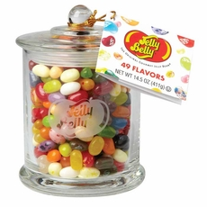 Jelly Belly 49 Flavor Glass Gift Jar