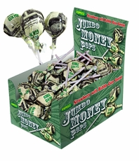 Jumbo Money Lollipops 96ct