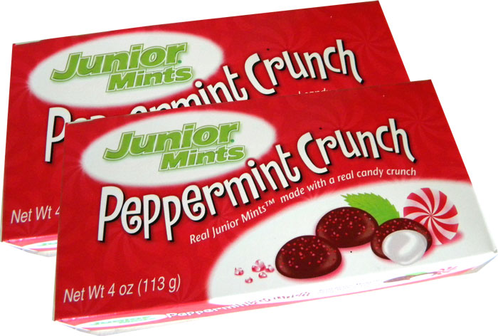 Junior Mints Peppermint Crunch 3 5oz Christmas Candy
