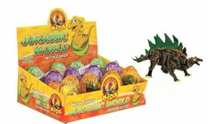 Jurassic Dinosaur Egg With Candy 12 Count