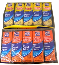 Lance Cheese Crackers 20ct -  Choose Flavor