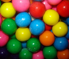 "Large 1"" Bubble Gum Balls 24oz"