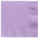 Lavender Beverage Napkins 3 Ply - 50 Count