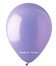 "Lavendar Latex Balloons 12"" 72 Count Bag"
