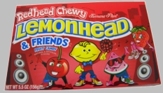 Lemon Head & Red Head Chewy Candy 5.5oz
